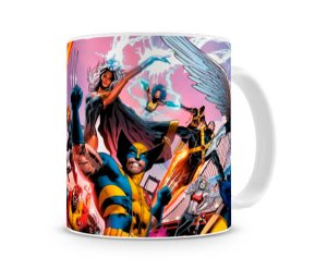 Caneca X Men Personagens V