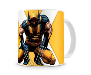 Caneca X Men Wolverine Yellow I