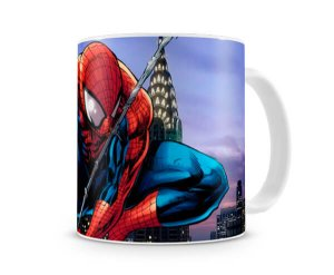 Caneca Homem Aranha Desenho