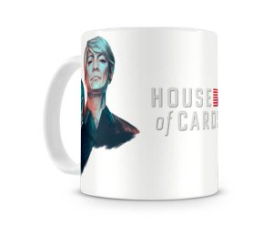Caneca House of Cards Claire e Frank