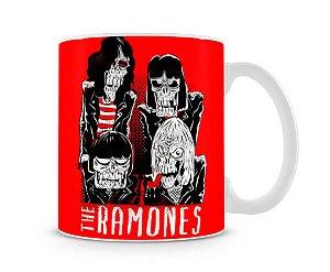 Caneca Ramones Zombies