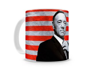 Caneca House of Cards Frank Flag