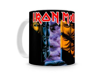 Caneca Iron Maiden peace of mind