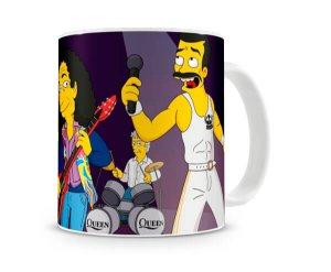 Caneca Queen Simpsons