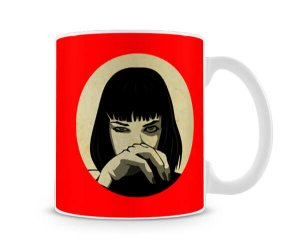 Caneca Pulp Fiction Mia