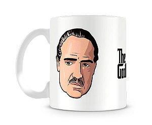Caneca Poderoso Chefão Vito Corleone Head