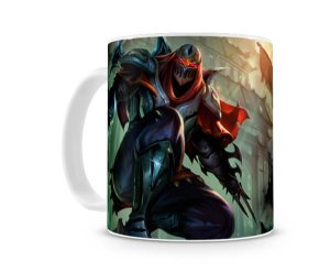 Caneca League of Legends Zed
