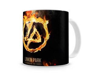 Caneca Linkin Park Burn In The Skies