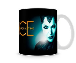 Caneca Once Upon a Time Rumple e Evil Queen