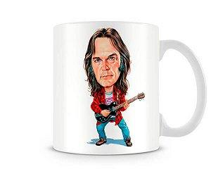 Caneca Neil Young Desenho