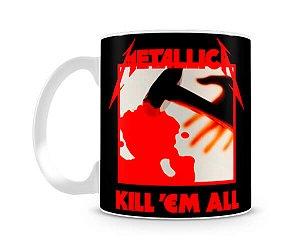 Caneca Metallica Kill em All