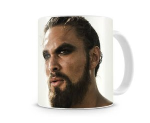 Caneca Game of Thrones Khal Drogo Head