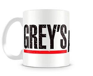 Caneca Greys Anatomy Logo