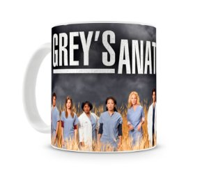 Caneca Greys Anatomy Personagens I