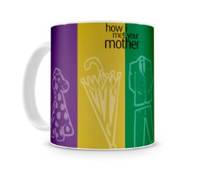Caneca How I met your mother things I
