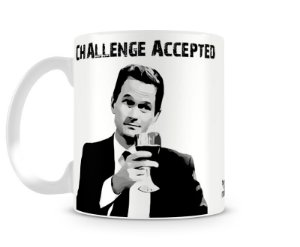 Caneca How I met your mother challenge