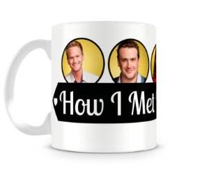 Caneca How I met your mother personagens I