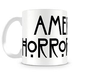 Caneca American Horror story logo