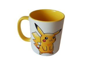 Caneca Pokémon Pikachu color yellow