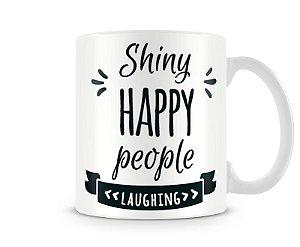 Caneca Shiny Happy People REM