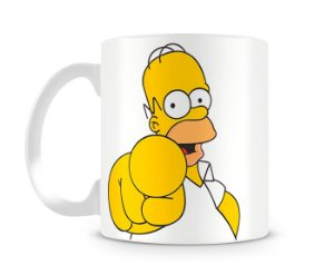 Caneca os simpsons homer you