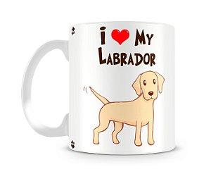 Caneca I Love my Labrador