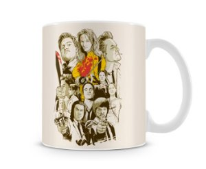 Caneca Quentin Tarantino Movie