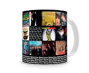 Caneca Rolling Stones Albums