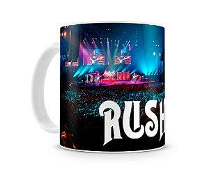 Caneca Banda Rush World Tour