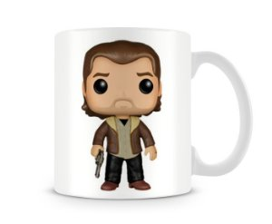 Caneca The Walking Dead Rick Funko Pop