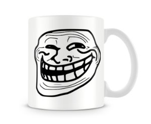 Caneca Troll Face I
