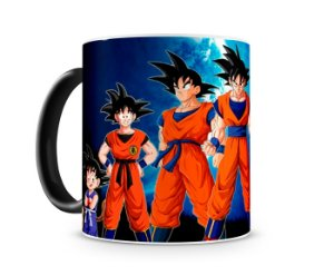 Caneca Mágica Dragon Ball Goku Evolution