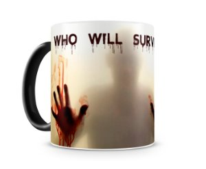 Caneca Mágica The Walking Dead Who Will Survive