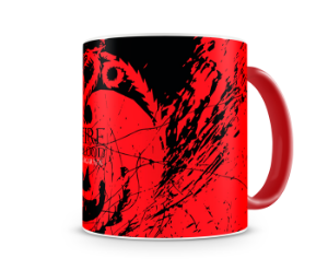 Caneca Game of Thrones Targaryen color red