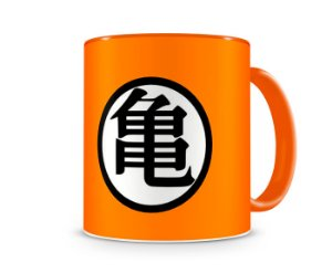 Caneca Dragon Ball Z Orange