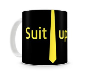 Caneca How I met your mother Suit UP II