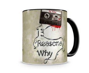 Caneca Mágica 13 Reasons Why
