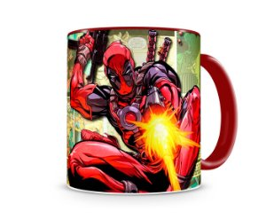 Caneca Deadpool HQ Red