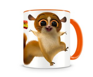 Caneca Madagascar Mort Orange