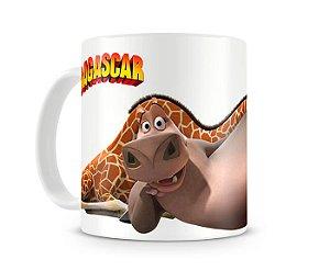 Caneca Madagascar Gloria e Melman