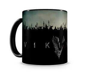Caneca Vickings II Black