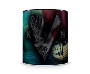 Caneca Vickings III Black