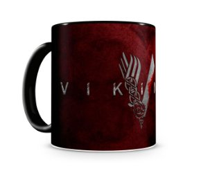 Caneca Vickings IV Black