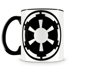Caneca Star Wars Galact Empire Black