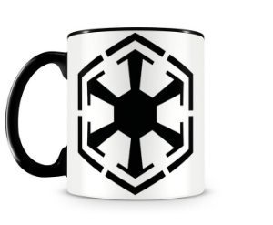 Caneca Star Wars Sith Empire Black