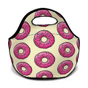 Bolsa Térmica Neoprene Rosquinha Donut