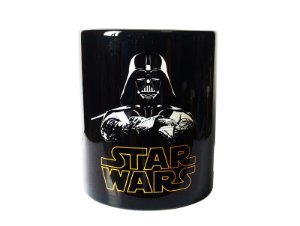Caneca star wars darth vader color black