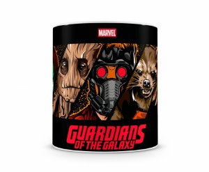Caneca Guardiões da Galaxia Cartoon HQ II