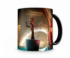 Caneca Mágica Guardiões da Galaxia Baby Groot