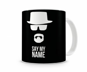 Caneca Breaking Bad Say My Name Black